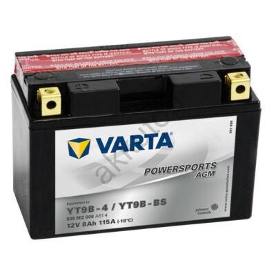 Varta Powersports AGM 9 Ah  ( YT9B-4   YT9B-BS )