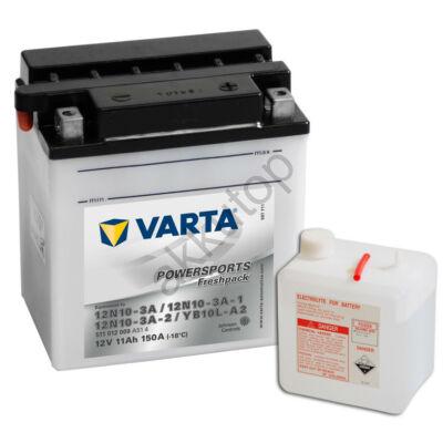 Varta Powersports Freshpack 11 Ah  ( 12N10-3A   12N10-3A-112N10-3A-2   YB10L-A2 )