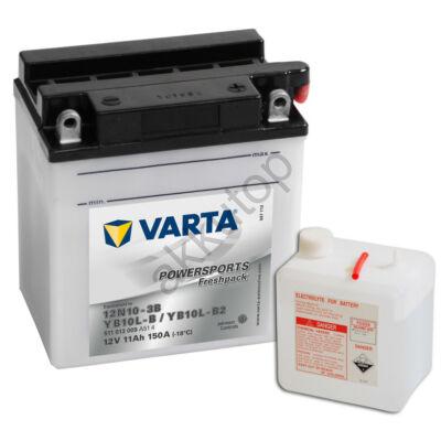 Varta Powersports Freshpack 11 Ah  ( 12N10-3B   YB10L-B   YB10L-B2 )
