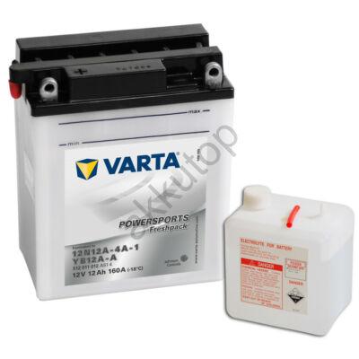 Varta Powersports Freshpack 12 Ah  ( 12N12A-4A-1   YB12A-A )
