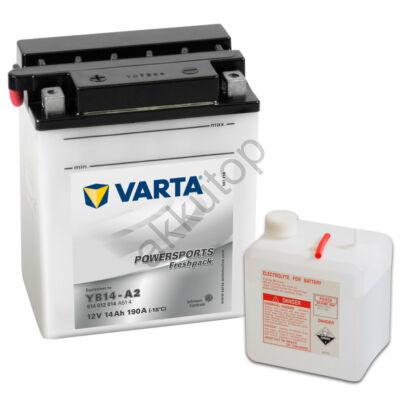 Varta Powersports Freshpack 14 Ah  ( YB14-A2 )