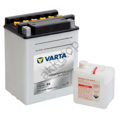 Varta Powersports Freshpack 14 Ah  ( YB14-B2 ) akkumulátor