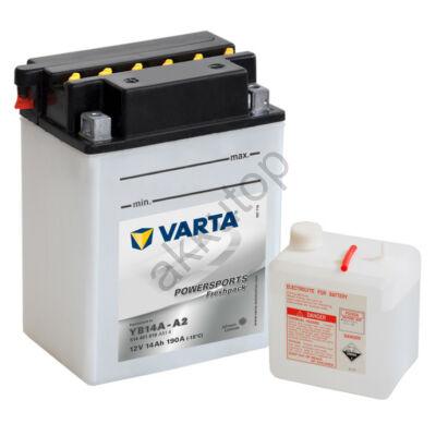 Varta Powersports Freshpack 14 Ah  ( YB14A-A2 ) akkumulátor