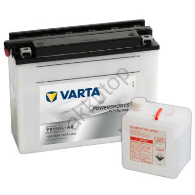 Varta Powersports Freshpack 16 Ah  ( YB16AL-A2 )