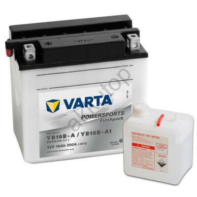 Varta Powersports Freshpack 16 Ah  ( YB16B-A   YB16B-A1 )