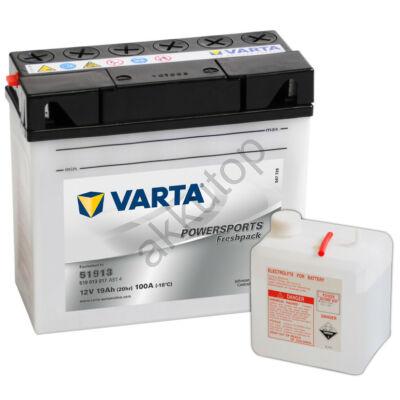 Varta Powersports Freshpack 19 Ah  ( 51913 )
