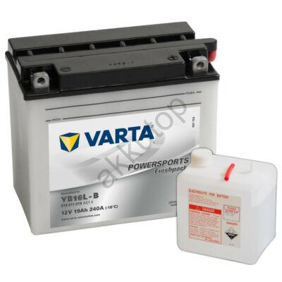Varta Powersports Freshpack 19 Ah  ( YB16L-B )