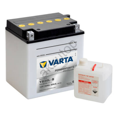 Varta Powersports Freshpack 30 Ah  ( YB30L-B ) akkumulátor