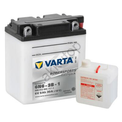 Varta Powersports Freshpack 6V 6 Ah  ( 6N6-3B-1 )