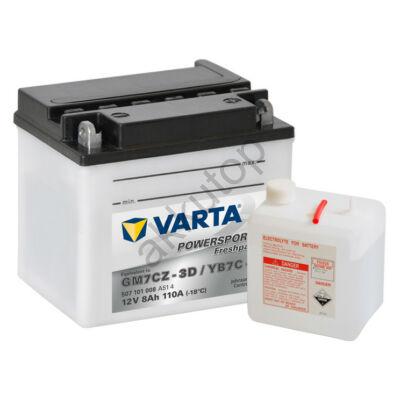 Varta Powersports Freshpack 7 Ah  ( GM7CZ-3D   YB7C-A )