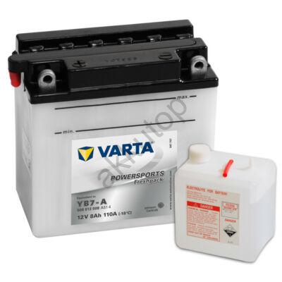 Varta Powersports Freshpack 8 Ah  ( YB7-A )