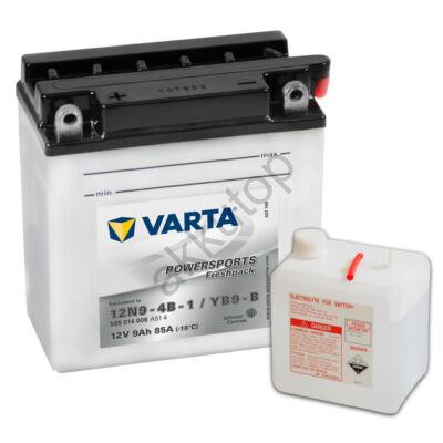 Varta Powersports Freshpack 9 Ah  ( 12N9-4B-1   YB9-B )