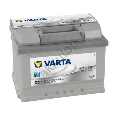 Varta SILVER dynamic 61 Ah jobb+ 5614000603162
