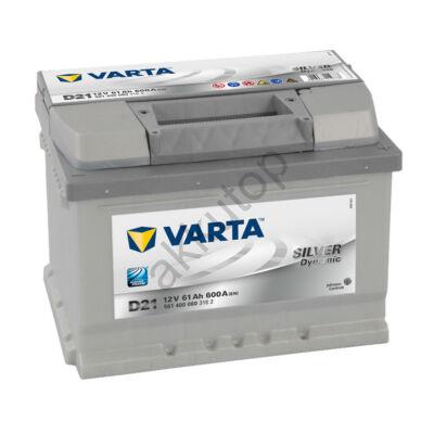 Varta SILVER dynamic 61 Ah jobb+ 5614000603162 akkumulátor
