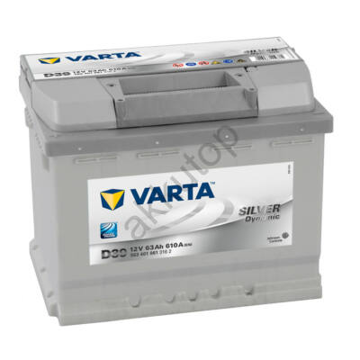 Varta SILVER dynamic 63 Ah bal+ 5634010613162
