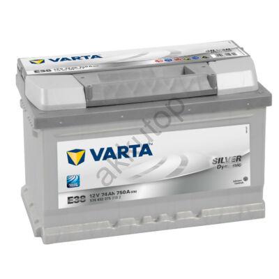 Varta SILVER dynamic 74 Ah jobb+ 5744020753162 akkumulátor