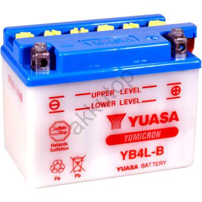 YUASA 12V 4 Ah YB4L-B jobb+