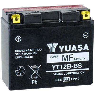 YUASA 12V 10 Ah YT12B-BS bal+ AGM akkumulátor