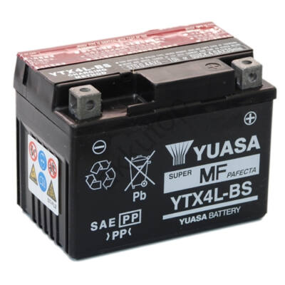 YUASA 12V 3 Ah jobb+ AGM ( YTX4L-BS )