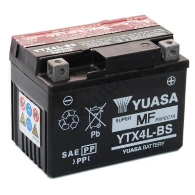 YUASA 12V 3 Ah YTX4L-BS jobb+ AGM
