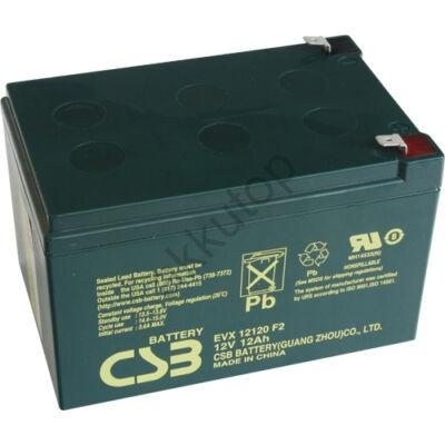 CSB-EVX 12V 12Ah 6,3 Saru