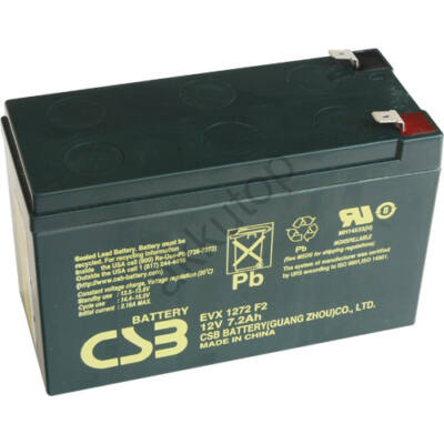 CSB-EVX 12V 7,2 Ah 6,3 Saru