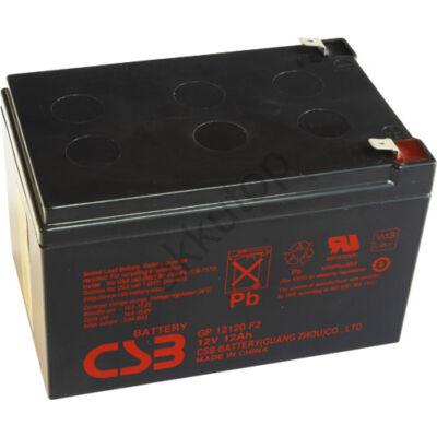 CSB-GP 12V 12 Ah 6,3 Saru