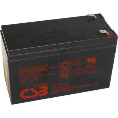 CSB-GP 12V 7,2 Ah 6,3 Saru