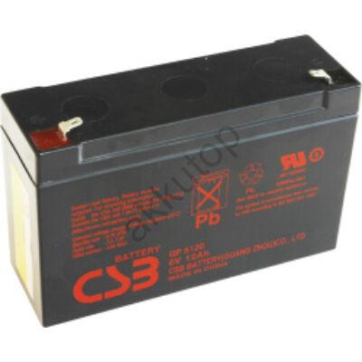 CSB-GP 6V 12Ah 6,3 Saru