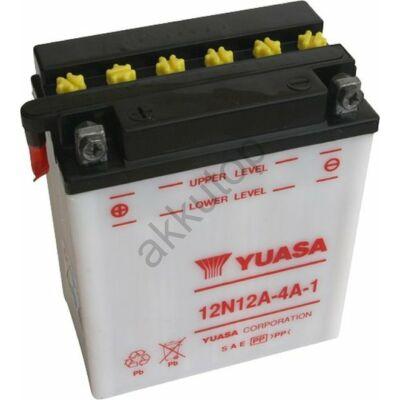 YUASA 12V 12 Ah 12N12A-4A-1 bal+