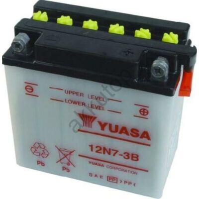YUASA 12V 7 Ah 12N7-3B jobb+ akkumulátor