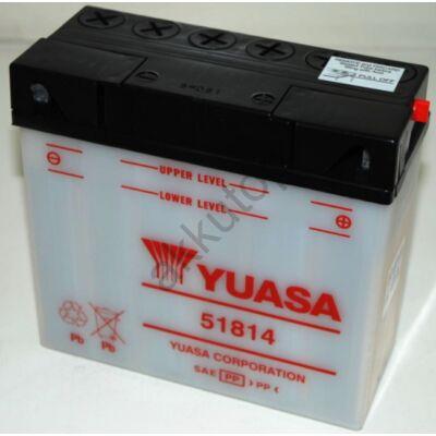 YUASA 12V 18 Ah 51814 jobb+ akkumulátor