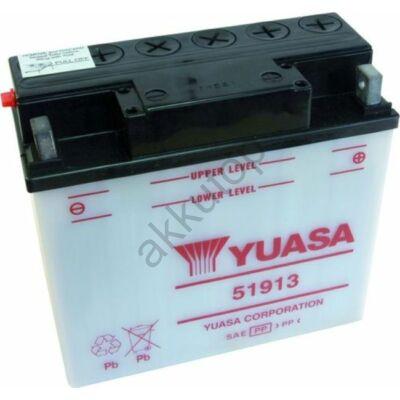 YUASA 12V 19 Ah 51913 jobb+ akkumulátor
