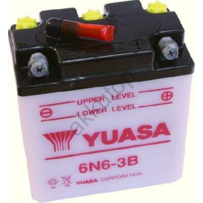YUASA 6V 6 Ah 6N6-3B jobb+