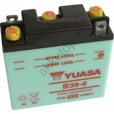 YUASA 6V 7 Ah B39-6 jobb+ akkumulátor