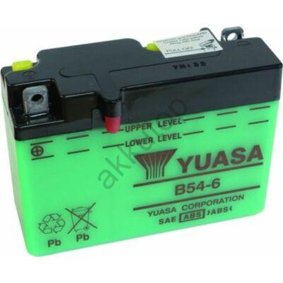 YUASA 6V 12 Ah B54-6 bal+