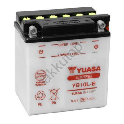 YUASA 12V 11 Ah YB10L-B jobb+ akkumulátor