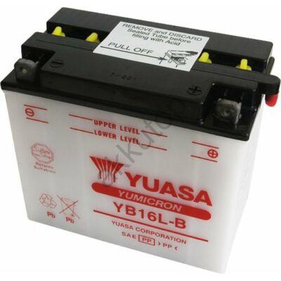 YUASA 12V 19 Ah Jobb+ YB16L-B  akkumulátor