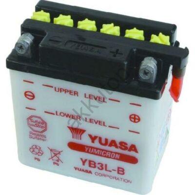 YUASA 12V 3 Ah YB3L-B jobb+ akkumulátor