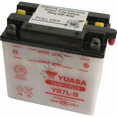YUASA 12V 8 Ah YB7L-B jobb+