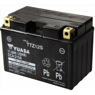 YUASA 12V 11 Ah TTZ12S-BS bal+ AGM akkumulátor