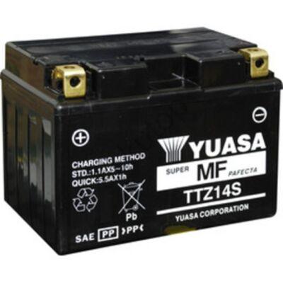 YUASA 12V 11,2 Ah TTZ14S-BS bal+ AGM akkumulátor