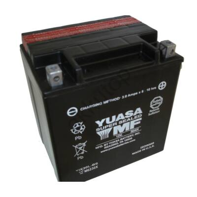 YUASA 12V 30 Ah YIX30L-BS Jobb+ akkumulátor