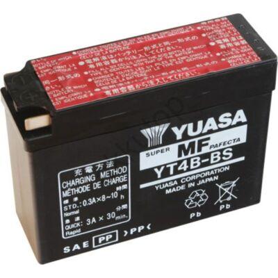 YUASA 12V 2,3 Ah YT4B-BS bal+ AGM akkumulátor