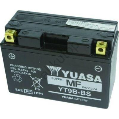 YUASA 12V 8 Ah YT9B-BS bal+ AGM akkumulátor
