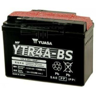 YUASA 12V 2,3 Ah YTR4A-BS bal+ AGM akkumulátor