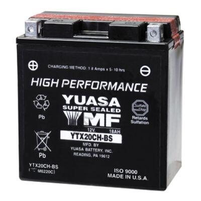 YUASA 12V 18 Ah YTX20CH-BS bal+ AGM akkumulátor
