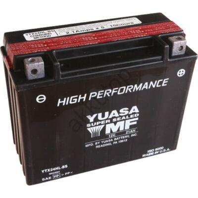 YUASA 12V 21 Ah YTX24HL-BS jobb+ AGM akkumulátor