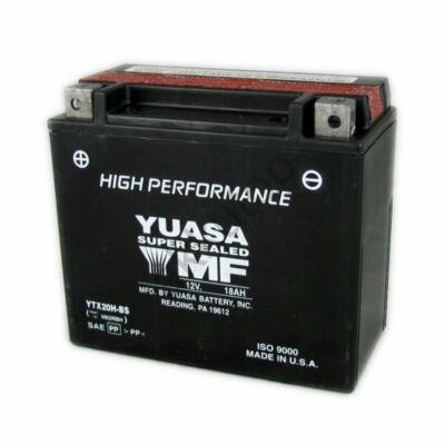 YUASA 12V 18 Ah YTX20H-BS bal+ AGM akkumulátor