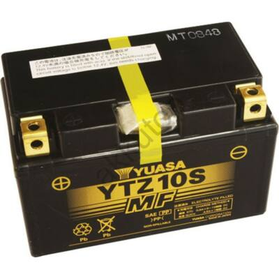 YUASA 12V 8,6 AH YTZ10S bal+ akkumulátor